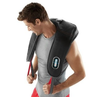 heated neck shoulder massager